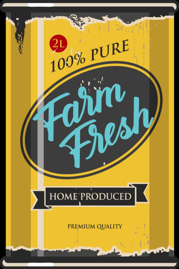 Mediatoimisto Lumeton 100% pure farm fresh purkki
