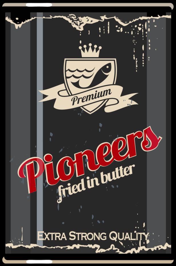 Mediatoimisto Lumeton premium pioneers fried in butter purkki